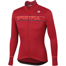 Sportful Giro Langarm Thermal Trikot Herren red